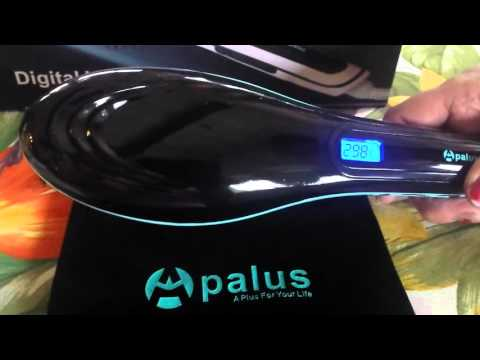 Apalus Brush Hair Straightener