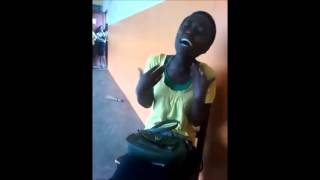 African School Girl Sings Beyonce's Halo  with Beautiful Voice