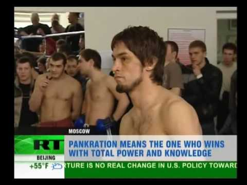 Russia today about pankration/