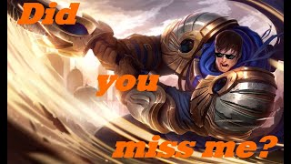 Returning to regular uploads - Garen VS Rumble (Normal) - League of Legends Live Commentary