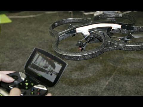 AR Drone 2.0 with Nvidia Shield - Range Tests & Review - Episode 31 HD