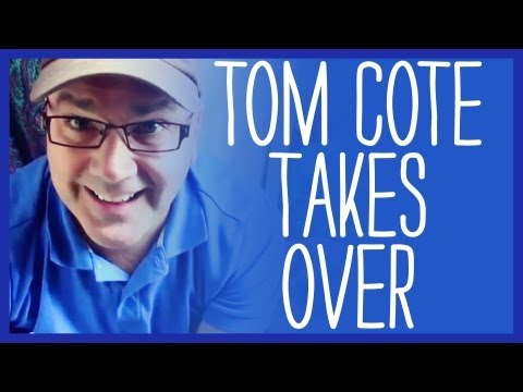 Tom Cote Takes Over YouTube Channel