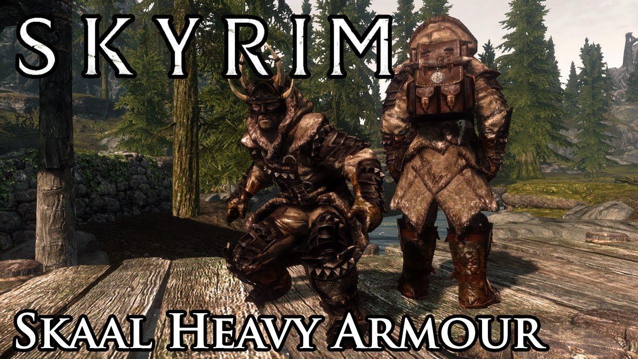 Heavy Armor Skyrim Mod Skyrim Mod Skaal Heavy Armour