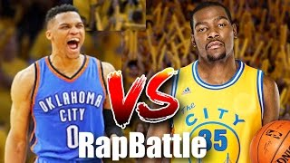 KEVIN DURANT VS RUSSELL WESTBROOK RAP BATTLE PARODY ON NBA 2K16