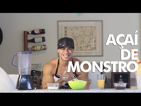 MONSTRO NA COZINHA - Açaí de Monstro