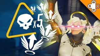 5 MAN MERCY REZ IS BACK??? Overwatch Funny & Epic Moments 478