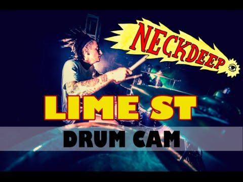 Neck Deep   Lime St   Drum Cam (LIVE) thumbnail