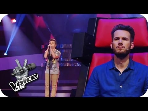 Marcell - Wrong Directions | The Voice Kids 2014 Germany | Blind Audition