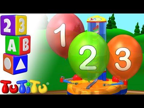 Числа обучения на английском языке | Надувные шарики | TuTiTu дошкольный