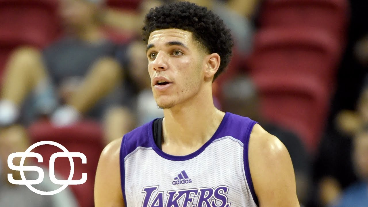 Lonzo Ball Reacts To LeBron James Watching Him Play | SportsCenter | ESPN