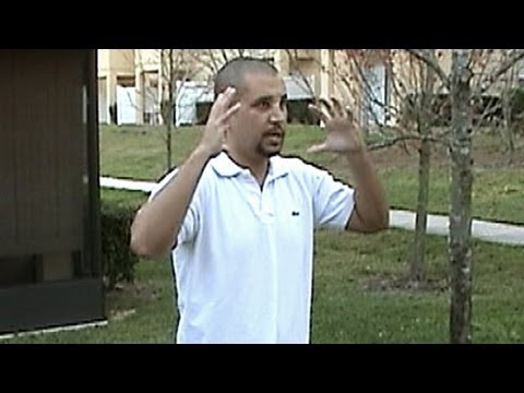 George Zimmerman Reenactment Of Trayvon Martin Shooting (Part 1)