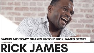 Darius McCrary's True Rick James Story: Eddie Murphy's Fountain Got Crashed Into By Rick