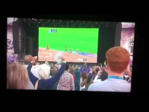 Olympics 2012  Mo Farah winning his double gold GREAT REACTIONS