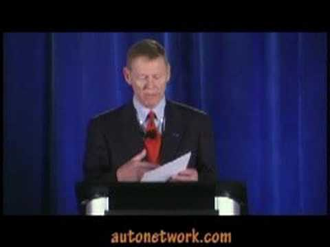 Alan Mulally, 2008 Los Angeles Auto Show,
