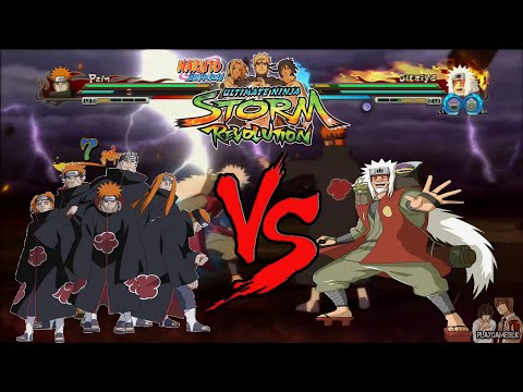 Naruto Shippuden Ultimate Ninja Storm Revolution | Pain Vs Jiraiya Sage Mode video