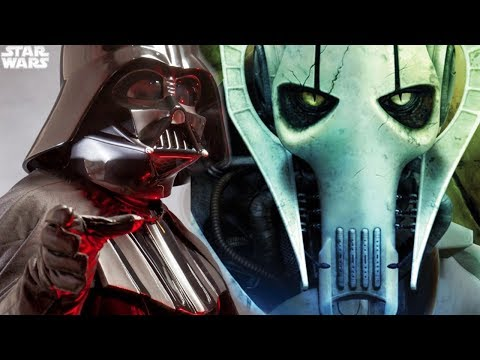 Star Wars Reveals The TERRIFYING Rumor About General Grievous and Darth Vader and What It Means