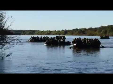 Operação Guarani 2014 Transposição Rio St Maria