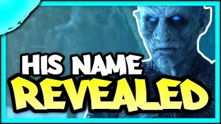 Evidence that the Night King's Name is JON SNOW | Game of Thrones Season 8