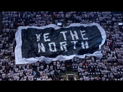 Toronto Raptors Player Introductions - 2014 NBA Playoffs - Round 1, Game 1 vs. The Brooklyn Nets