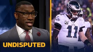 Shannon Sharpe explains why he likes the Eagles to win at home against Seattle | NFL | UNDISPUTED