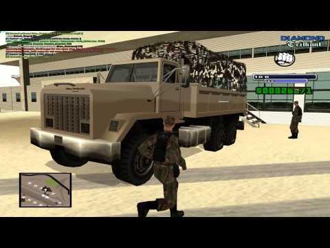 SAMP - Diamond RP Trilliant - ВВС - Часть 25