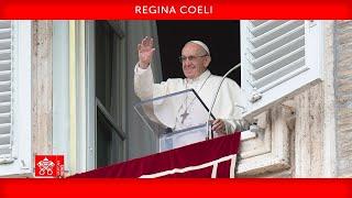 Regina Coeli 09 maggio 2021 Papa Francesco