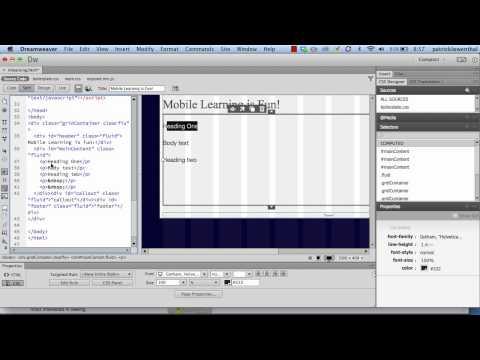 ... Websites with a Fluid Grid Layout using Dreamweaver CC-Xilfy.com
