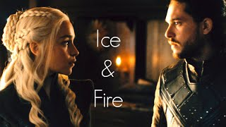 (GoT) Jon Snow and Daenerys Targaryen | Ice And Fire || House Targaryen