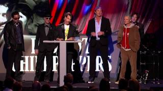 Red Hot Chili Peppers - Rock And Roll Hall of Fame Induction [HD]