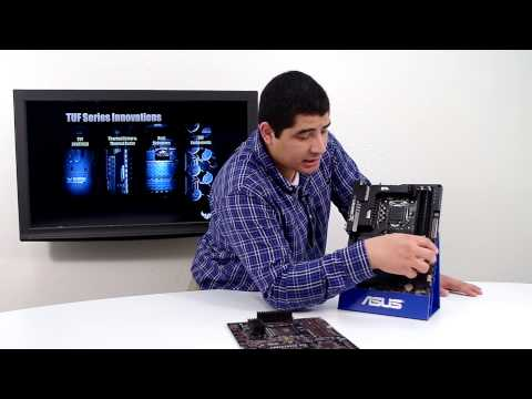 ASUS Sabertooth Z87 TUF Series Motherboard Overview
