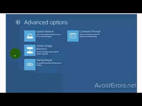 Create System Image Backups of Windows 8.1 and Restore from it