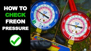 How to Check AC Freon Level