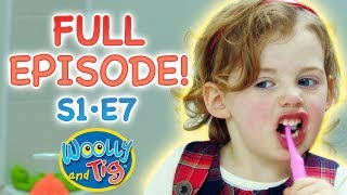Woolly and Tig - Open Wide | Full Episode | S1 • E7 | Kids TV Show | Toy Spider