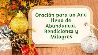 ORACIÓN para un Año Lleno de Abundancia, Bendiciones y Milagros