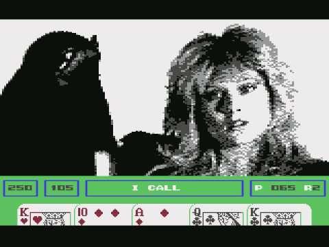 Samantha Fox Strip Poker (c64) longplay