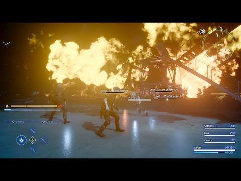 """【PS4/Xbox One】『FINAL FANTASY XV』ゲームプレイ映像""""バトル編""""が公開"""