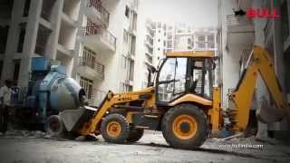 [Bull Backhoe Loader in Construction Industry] Video