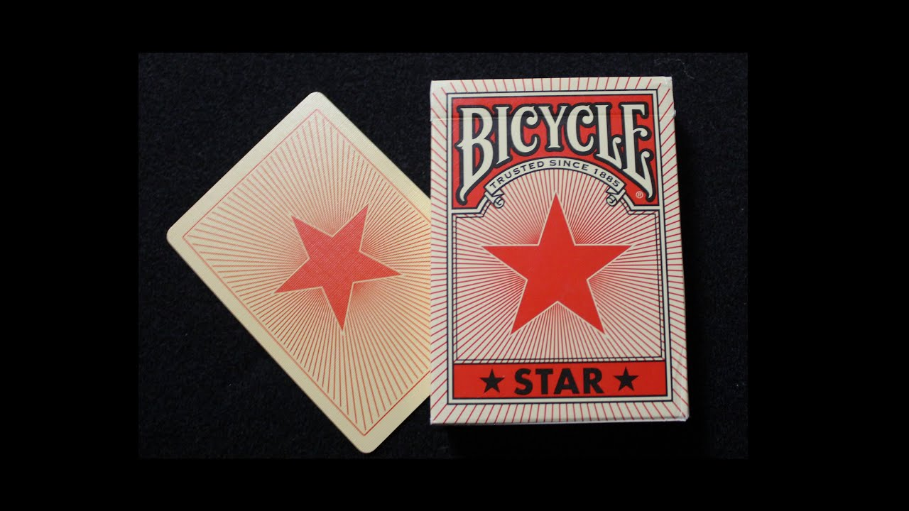 Bicycle Tsunami Deck Bicycle Star Deck Review