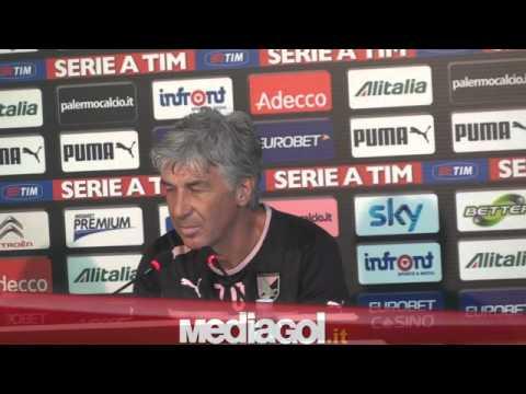 (1/2)Gian Piero Gasperini in conferenza stampa alla vigilia di Chievo-Palermo - Mediagol.it