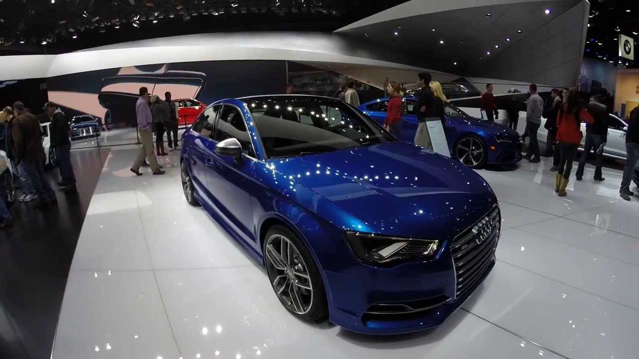 Audi s3 Sedan Blue 2015 Audi s3 Sedan Detailed