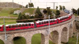 Bemo RhB H0m Bernina Express Brusio 1