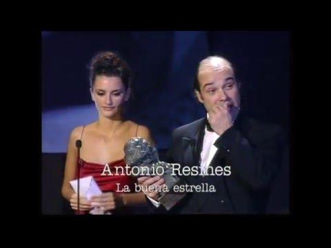 Antonio Resines gana el Goya a Mejor Actor Protagonista en 1998