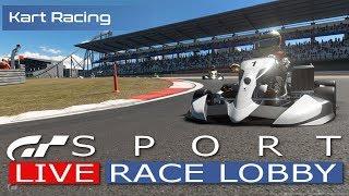 GT Sport LIVE- Kart & Honda Project [Jack] Live Race Lobby