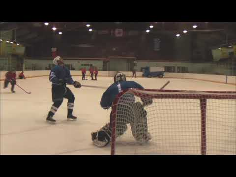 Hardest hockey shot ever!!!!