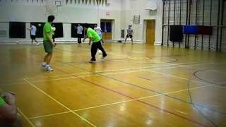 Dodgeball Video with Amazing Catch at end by Super Star DodgeROO