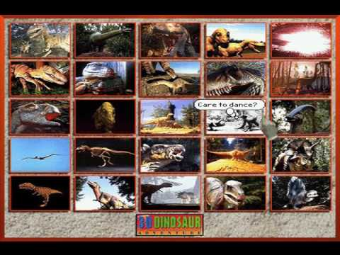 Remembrances of Games Past. Part #14: 3-D Dinosaur Adventure (1994) (PC) (Knowledge Adventure)