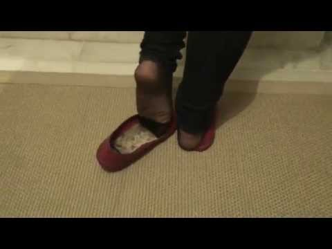 Well Worn Flats And Feet video