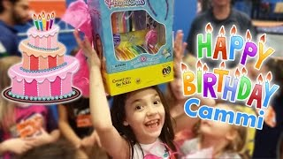 Birthday Party Opening Birthday Presents | Cammi