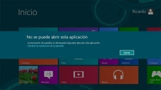 Cambiar resolución de pantalla Windows 8 | Solución Notebook