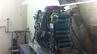 F1 - 2.5 L Mercury Dyno Run